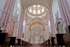 Templo de la Purísima Concepción (Las Monjas) em San Miguel de imagem de stock