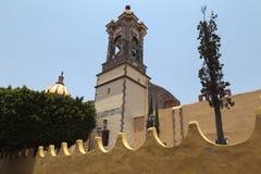 Templo de la Purísima Concepción (Las Monjas) i San Miguel de Royaltyfri Bild