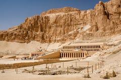 Templo de la reina Hatshepsut, Egipto Imágenes de archivo libres de regalías