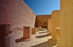 Templo de la reina Hatshepsut en el EL-Bahri de Deir - templo de Hatsheps Fotos de archivo