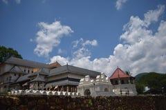 Templo de la reliquia sagrada del diente Fotografía de archivo libre de regalías