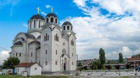 Templo de la resurrección de Cristo Imágenes de archivo libres de regalías