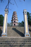 Templo de la tonalidad fotografía de archivo