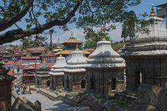 Templo de Lalitpur Kathmandu Nepal Imagem de Stock