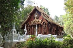 Templo de Lana Style Classic Mountain Buddha Imágenes de archivo libres de regalías