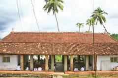 Templo de Lankathilaka del turismo de la cultura Fotos de archivo