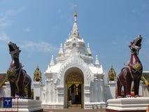 Templo de Lanna, Wat Phra That Hariphunchai, Lmpoon, Tailandia Imágenes de archivo libres de regalías