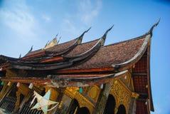 Templo de Laos Foto de archivo libre de regalías