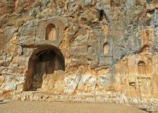 Templo de las cacerolas Imágenes de archivo libres de regalías