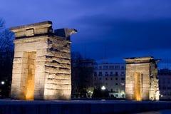 Templo de las puertas de Debod Fotografía de archivo libre de regalías