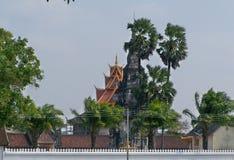 Templo de las reliquias de Buda ing-colgado Fotografía de archivo