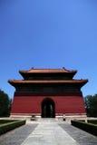 Templo de las tumbas de Ming Fotos de archivo libres de regalías
