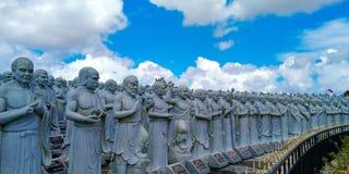 Templo de 500 Lohan Imagem de Stock