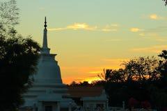 Templo de Lord Buddha imagem de stock