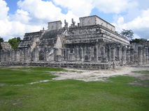 Templo de Los Guerreros Imagens de Stock Royalty Free