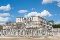 Templo de Los Guerreros Stockbild