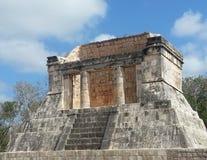 Templo de Los Guerreros Imagen de archivo