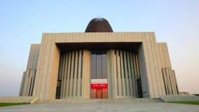 Templo de los hipopótamos de la natación de la divina providencia en Wilanow, Varsovia, Polonia metrajes