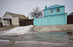 Templo de los testigos del ` s de Jehová en Rusia Fotografía de archivo libre de regalías