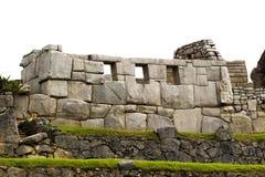 Templo de los tres Windows Machu Picchu Fotos de archivo libres de regalías