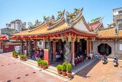 Templo de Lukang Mazu en changhua, Taiwán foto de archivo libre de regalías