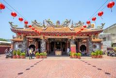 Templo de Lukang Mazu en changhua, Taiwán imagenes de archivo