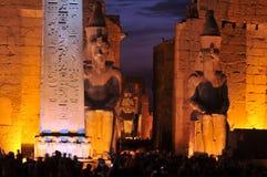 Templo de Luxor Fotografía de archivo libre de regalías