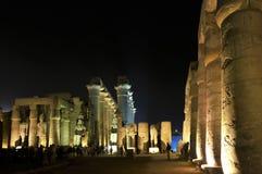 Templo de Luxor Foto de archivo libre de regalías