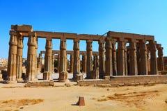 Templo de Luxor Foto de archivo