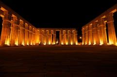 Templo de Luxor Fotos de archivo libres de regalías