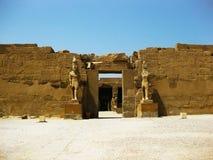 Templo de Luxor - detalhe Foto de Stock