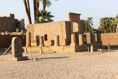Templo de Luxor, Egipto imagem de stock royalty free