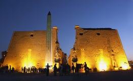 Templo de Luxor, Egipto Fotos de archivo