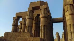 Templo de Luxor no tempo do dia imagens de stock royalty free