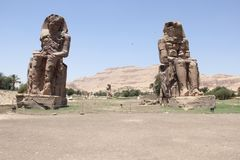 Templo de Luxor perto fotografia de stock