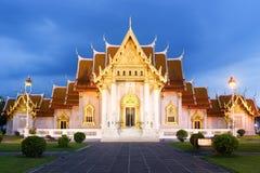 Templo de mármol Foto de archivo libre de regalías