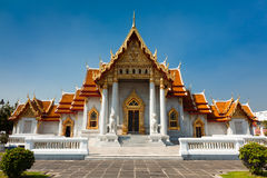 Templo de mármol en Bangkok Imagen de archivo libre de regalías