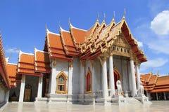 Templo de mármol en Bangkok Fotos de archivo libres de regalías