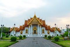 Templo de mármol, Wat Benchamabophit, Bangkok, Tailandia Fotos de archivo
