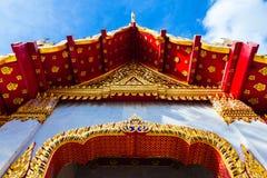 Templo de mármore, Banguecoque, Tailândia Fotos de Stock Royalty Free