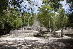 Templo de México Imagen de archivo libre de regalías