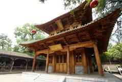 Templo de madeira Imagens de Stock