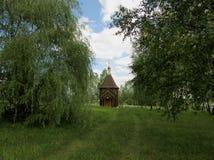 Templo de madeira Fotos de Stock