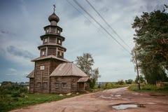 Templo de madeira antigo Fotos de Stock