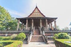 Templo de madera foto de archivo libre de regalías
