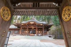 Templo de madera imagenes de archivo