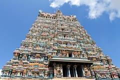 Templo de Madurai Meenakshi Imagen de archivo libre de regalías