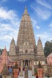 Templo de Mahabodhi. Fotografía de archivo libre de regalías