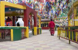 Templo de Mahakal fotografia de stock