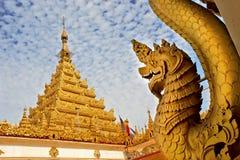 Templo de Mahamuni Imagens de Stock